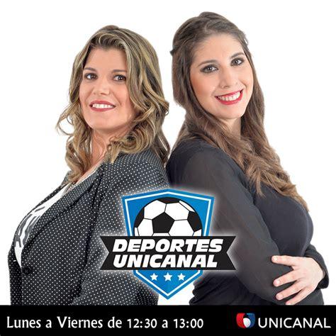 Unicanal anuncia nuevo programa deportivo conducido por ...