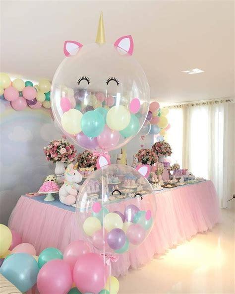 Unicorn Birthday Party Balloons Decorations | Unicorns ...