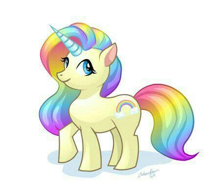 Unicornio arco iris   Dibujos de unicornios, Arte de ...