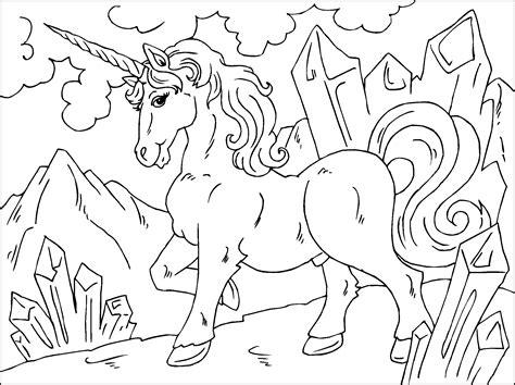 unicornio elegante para colorir   Criando com Apego