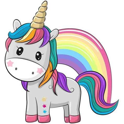 Unicornio Kawaii | DIBUJOS de Unicornios | Mundo Kawaii