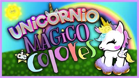 Unicornio Mágico de Colores / Show Piedra Papel o tijera ...