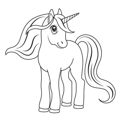 Unicornio para colorear   Para colorear