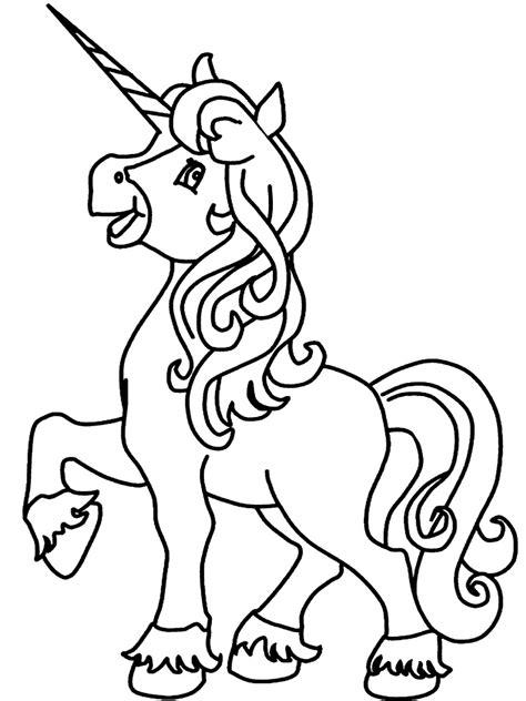 Unicornio – dibujos infantiles para colorear, para niños y ...