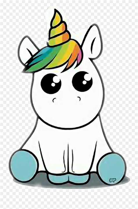 Unicornio Sticker   Dibujos De Escandalosos Para Dibujar ...