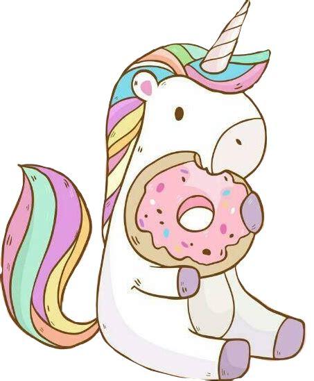 Unicornio sticker tumblr kawai tierno galleta...