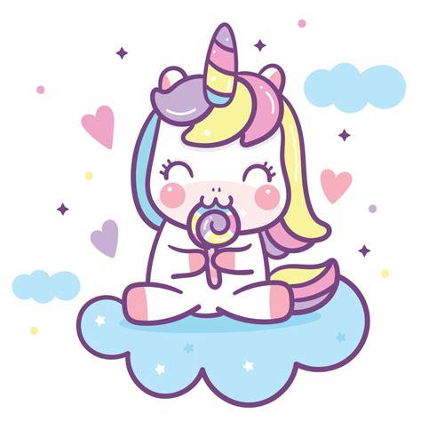 Unicornios Kawaii  21 Imágenes Que Te Enamorarán!
