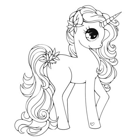 Unicornios para Colorear    Be Unicorn