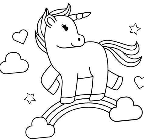 Unicornios para colorear   DeUnicornios