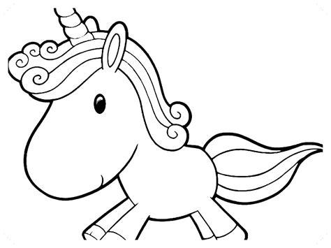 unicornios para colorear kawaii  Biblioteca de imágenes ...