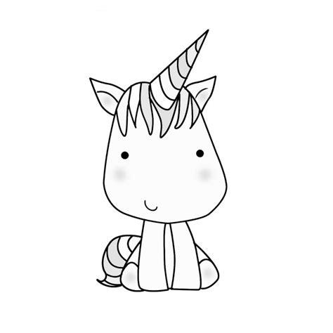 Unicornios Para Colorear Kawaii   SEONegativo.com