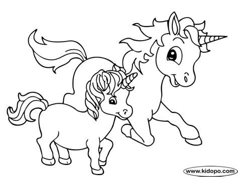 Unicornios para pintar