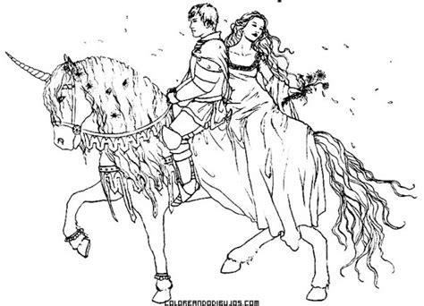 Unicornios Y Hadas Para Colorear