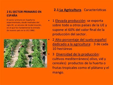 Unidad 8 El sector primario en la Unión Europea y en España