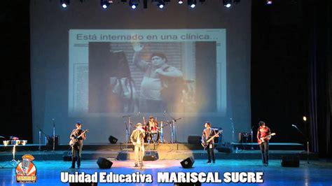 Unidad Educativa MARISCAL SUCRE 2do Grupo   YouTube