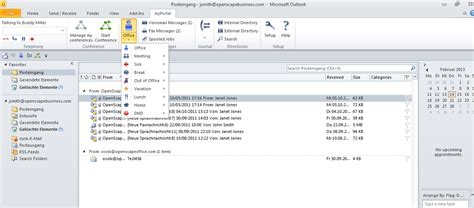 Unify OpenScape Business V2 myPortal for Outlook Lizenz ...
