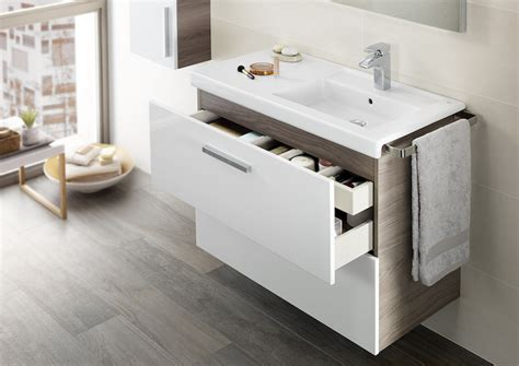 Unik  base unit with one drawer and basin  | Vanity basins ...