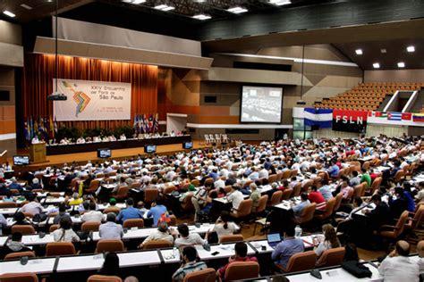 Unión regional, reclamo común en encuentro del Foro de Sao ...