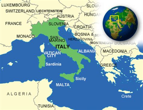 Unique Italy Facts   All about Italy   CountryReports ...