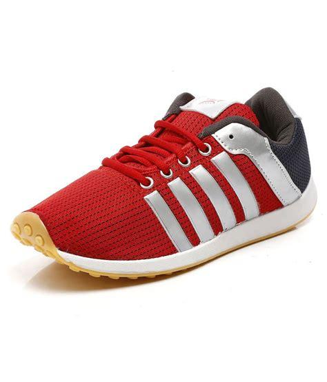 UniStar Men Jogging, Walking Narrow Toe  Running Shoes Red ...