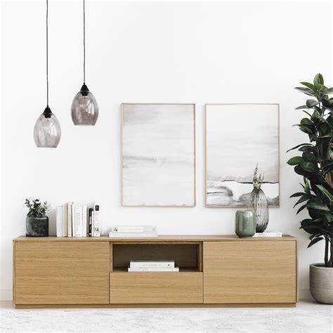 Unite mueble de TV 180 cm roble   Kenay Home en 2020 ...