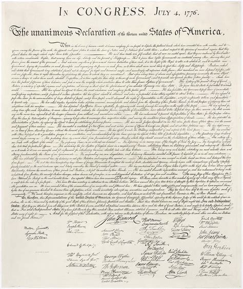 United States Declaration of Independence   Wikipedia