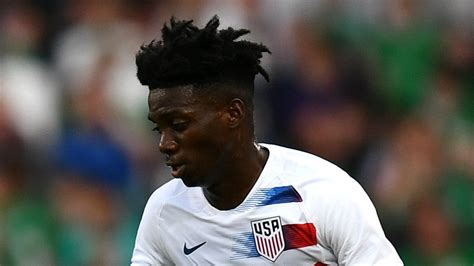 United States Under 20 World Cup: Timothy Weah goal sends ...