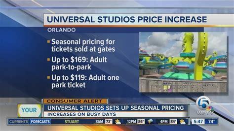Universal Studios announces price change   wptv.com