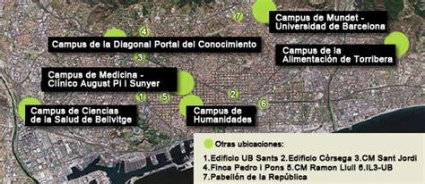 Universitat de Barcelona   Conoce los campus de la ...