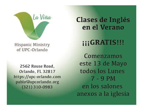 University Presbyterian Church: Orlando, FL > Clases de ...