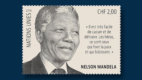 UNPA to issue Nelson Mandela definitive   Linns.com