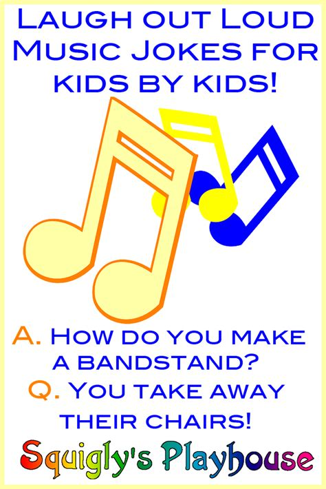 Up Beat Music Jokes for Kids   Squigly's Playhouse
