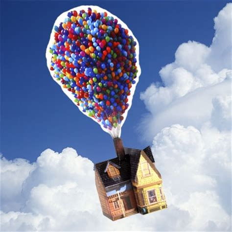 UP House with Balloons | Disney Family