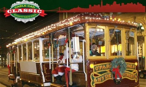 Up to 38% Off Holiday Cable Car Tour   Classic Cable Car ...