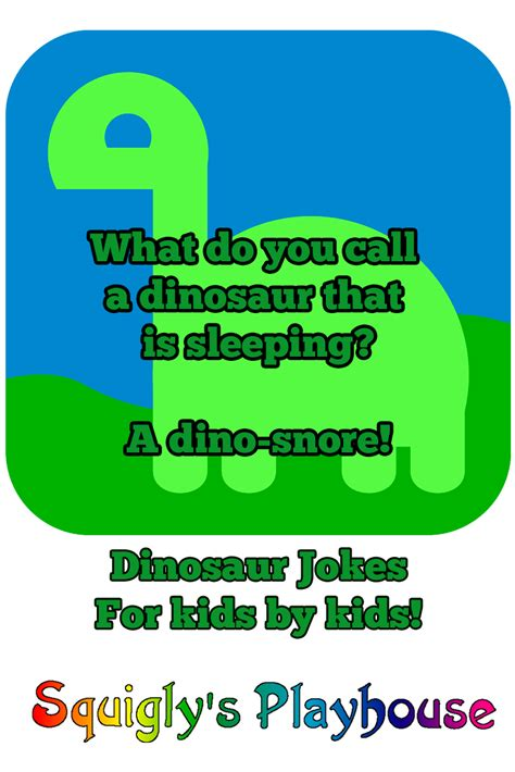 Uproariously Funny Dinosaur Jokes for Kids   Squigly's ...