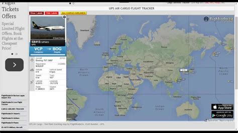UPS Air Cargo Tracking   YouTube
