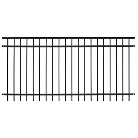 US Door & Fence Pro Series 4.84 ft. H x 7.67 ft. W Black ...
