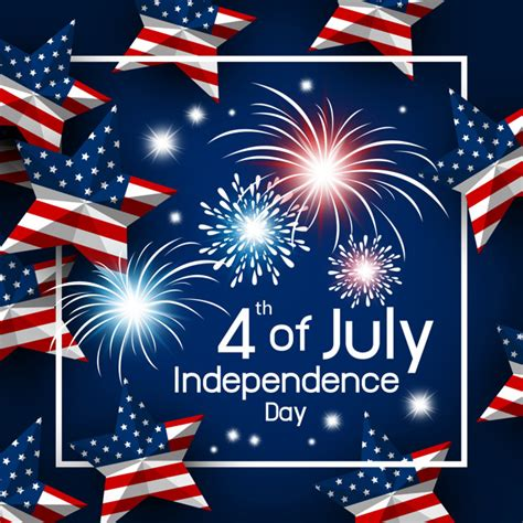 Usa 4th of july happy independence day vector illustration ...