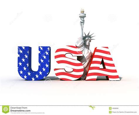 USA logo 3 stock illustration. Illustration of rendering ...