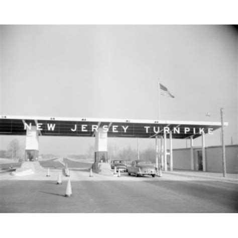 USA New Jersey Entrance to Jersey Turnpike Poster Print ...