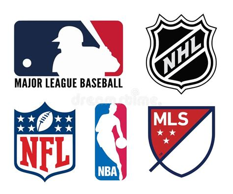 USA sports logos editorial photography. Illustration of ...