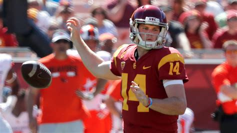 USC s Sam Darnold finds room to improve, even after big ...