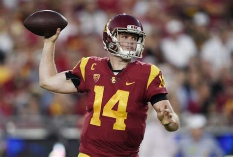 USC Star Quarterback Sam Darnold | Sports Byline USA