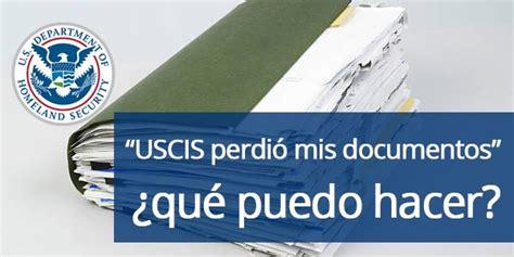 USCIS perdió mis documentos ¿cómo continuar mi aplicación?