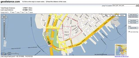Use Google Maps to Calculate Walking Distances