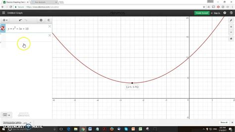 Using Desmos Graphing Calculator   YouTube
