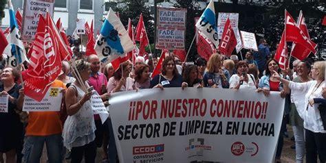 USO Asturias se manifiesta ante la patronal contra la ...