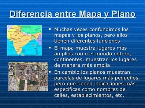Uso de los mapas o planos de ruta