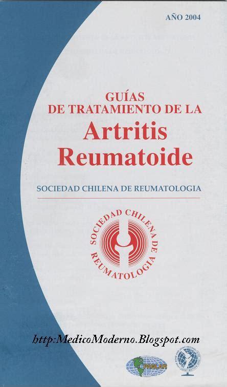 UST La Serena: Guias de Tratamiento de la Artritis ...