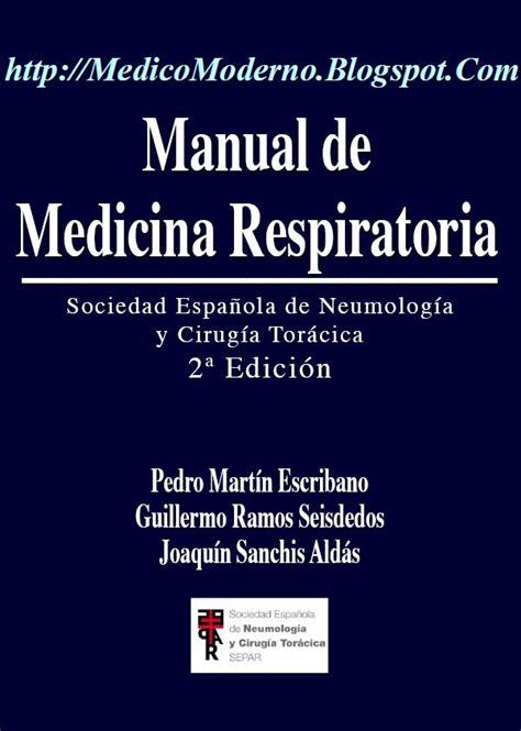 UST La Serena: Manual de Medicina Respiratoria 2ª Edición ...